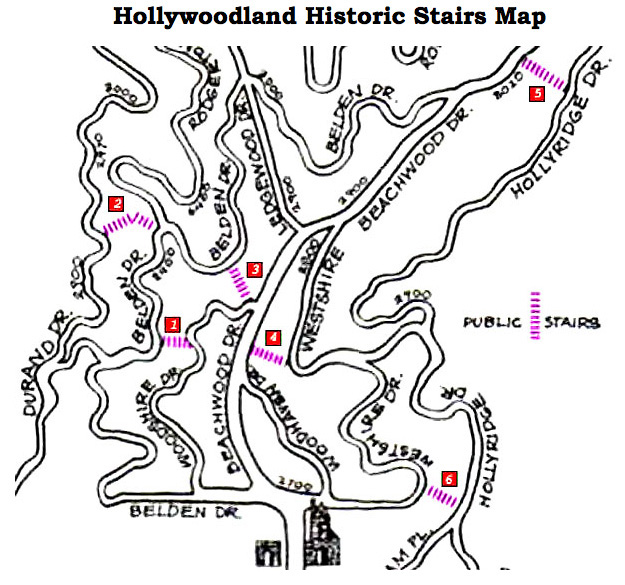 HollywoodlandHistoricStairs